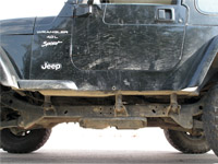 Jeep Body Lift
